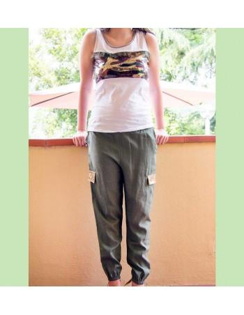 Completo militare pantalone...